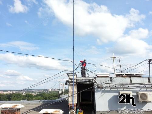 ustanovka cb antenni 16
