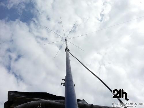 ustanovka cb antenni 17