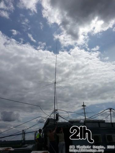ustanovka cb antenni 43