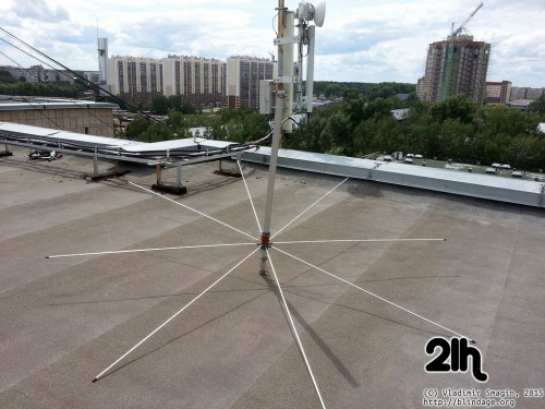 ustanovka cb antenni 49